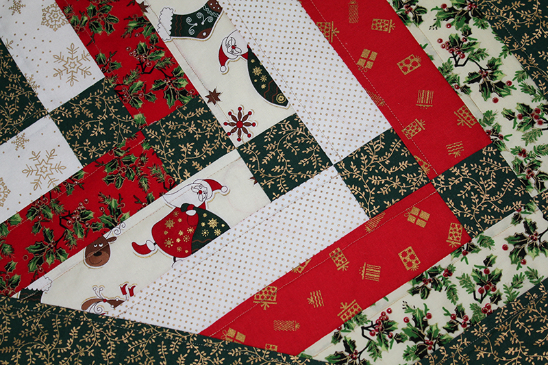 Patchwork Table Runner by Sylvia Tracey