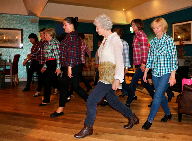 Line Dancers from ICA Wicklow Town