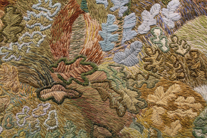 Ros Tapestry Close Up